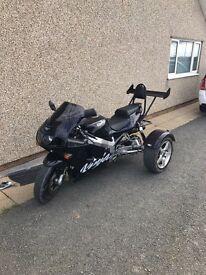 Kawasaki Ninja ZX750R Trike