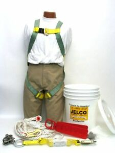 JELCO 25' ROOFERS KITS - FALL ARREST/PROTECTION