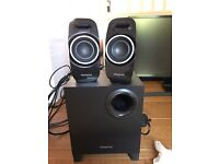 Creative speaker set