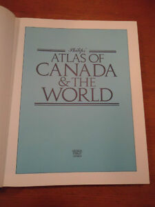 Philip's Atlas of Canada & the World West Island Greater Montréal image 2
