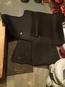 Supercrew F150 floor mats