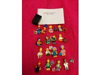 Lego minifigures simpsons series 2