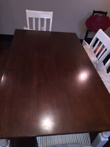 Very solid dining set for 6 West Island Greater Montréal image 3