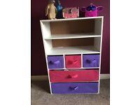 Child's bookshelf/storage ubit