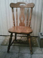Wanted Wood Kitchen Chair