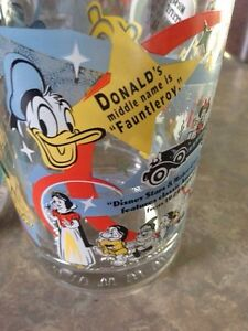 Walt Disney collectable glasses 100 anniversary Gatineau Ottawa / Gatineau Area image 3