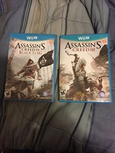 Wii U Assassins Creed 3 + 4