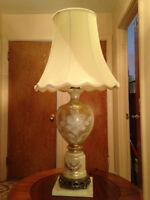 #8 Table Lamp with French Beads