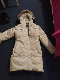Womans north face coat