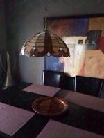 Beautiful Stained Light Fixture