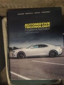 Automotive level 1,2, and 3 text books