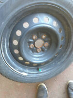 TOYOTA PRIUS WINTER SNOW TIRE PACKAGE RIMS AND TIRES