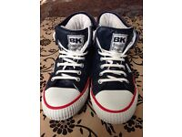 British Knights Boot style trainers, size 8.