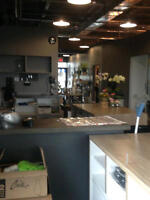 FULLY FIXTURED & EQUIPED FLOWER SHOP FOR LEASE