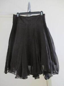 Zara Basic black silk skirt Perth Perth City Area Preview