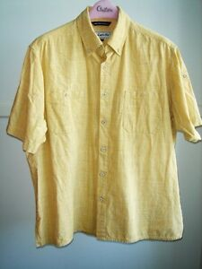 Pro Cam-Fis - Yellow Plaid Short Sleeve Shirt