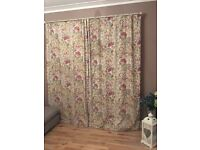 Voyage hedgerow linen curtains