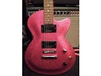 "Daisy Rock "" Rock Candy""guitar in Atomic pink"