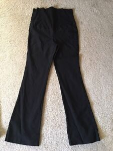 Maternity dress pants - small