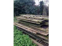 Dismantled Cedar Shed - repairs/restoration project