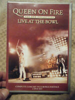 "Queen On Fire DVD Collection ""Live At The Bowl"""