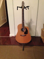 Seagull by Godin  S6 + CW Series - Cut-away acoustic ( with case