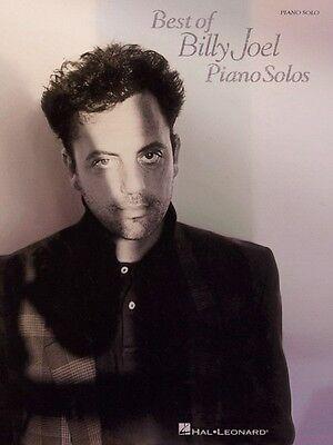 Best of Billy Joel Piano Solos Sheet Music Piano Solo NEW (Best Of Billy Joel)