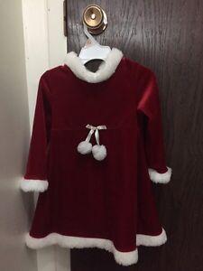 Ellegant christmas dress 3T
