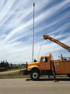 Digger Derrick and Backhoe Services. Tonka Contracting LTD Strathcona County Edmonton Area image 4