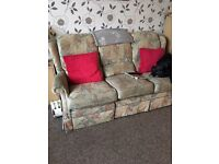 Couch & 2 seats