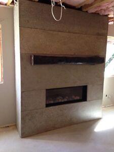 Concrete Fireplace Surrounds Kitchener / Waterloo Kitchener Area image 1