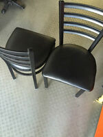 LIQUIDATION Metal Frame RESTAURANT CHAIRS / Bistro chairs
