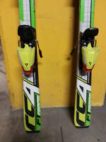 Fischer competition RC4 skis 130cm