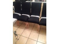 6 up cycled chairs resisting due to no collection