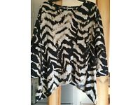 Size 12 modern style jumper as new