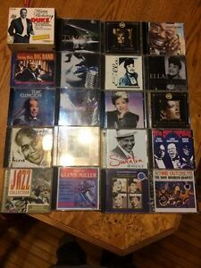 Jazz blues big band cd lot X20 Duke Ellington Charlie Parker