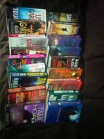 Paperbacks by various authors