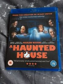 A haunted house bluray DVD