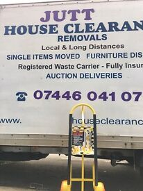 MAN AND VAN HOUSE REMOVALS (PACKING SERVICE)24/7 call 24/7