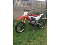 Pitbike for sale CRF70 size frame swap for crf50 size