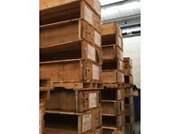 Wooden crates / firewood FREE to collector