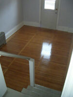 Spacious split level bachelor $675 all included. JULY 1st