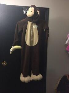 Adorable Monkey Costume - Size 3