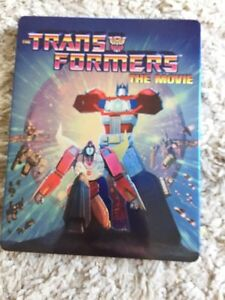 Transformers the movie Steelbook only