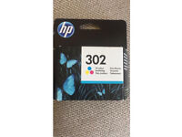 HP 302 Black x3 and Tri-color x4 Ink Cartridge