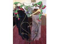 vintage style clothes rail/shabby chic