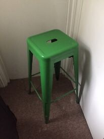 STEEL HIGH STOOL FOR SALE