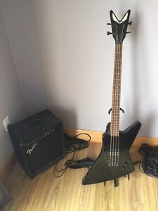 Dean Bass with Fender Amp