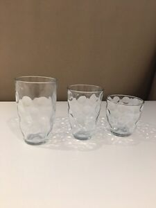 3 sets of 6 drinking glasses each West Island Greater Montréal image 4