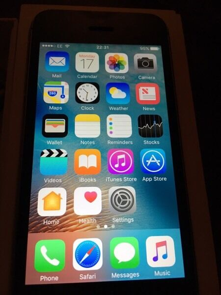Apple iPhone 5s 16gb EE/virgin mediain Middlesbrough, North YorkshireGumtree - Apple iPhone 5s 16gb EE network. Factory reset and logged out of iCloud/iTunes accounts. In immaculate new condition. Like new. Well looked after. Upgraded. iOS 10.0.2 latest software installed. Apple charger in original box. £145.00. Any inspection...